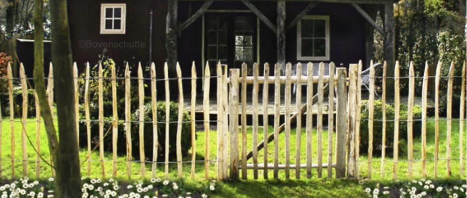 Rondhout poort