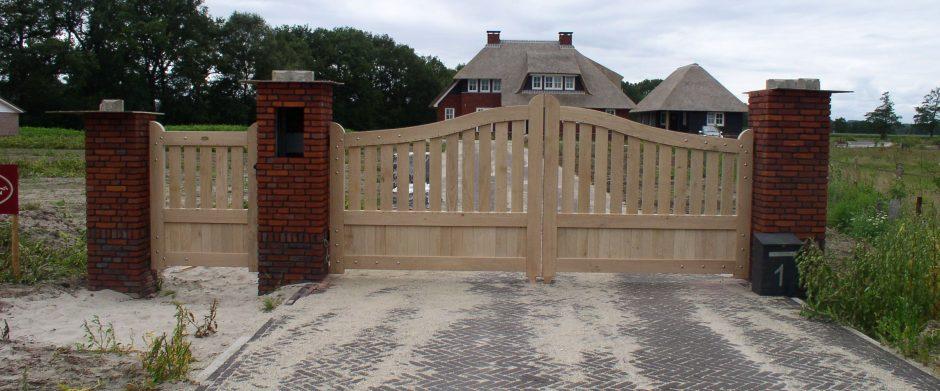 Maatwerk poort